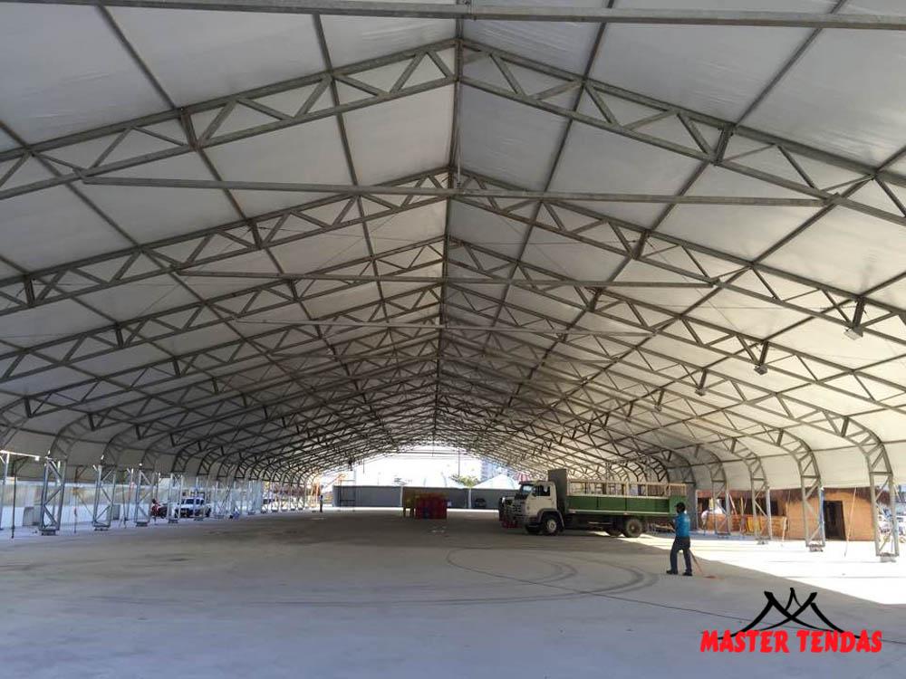 master tendas locação de tendas galpão pra armazém