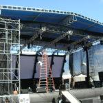 Estrutura de Palco para show Master Tendas