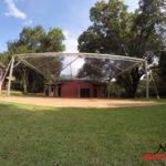 Modelo de tenda cristal para eventos, casamentos e feiras.