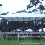 Palco para estrutura de eventos Master Tendas