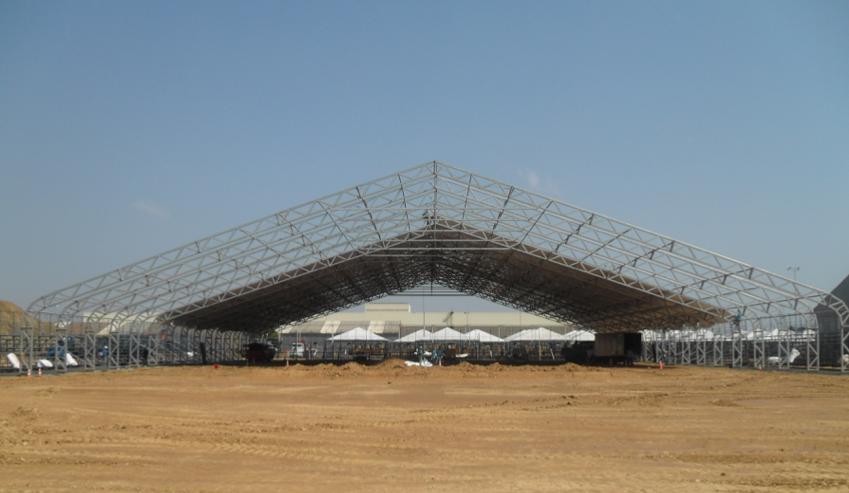 Grandes estruturas para tendas