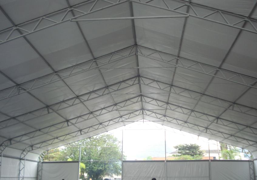 estrutura completa para tendas
